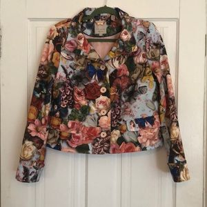 Ted Baker London Floral Butterfly Blazer
